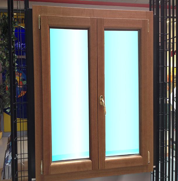 Infissi alluminio legno tecnal snc serramenti pavia - Finestre in alluminio effetto legno ...